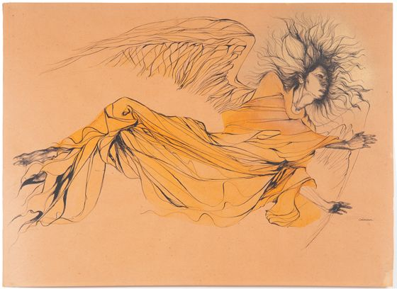 painting by Marjorie Cameron